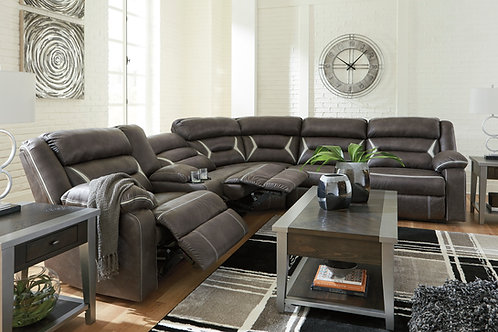 Kincord Midnight Power Reclining Sectional