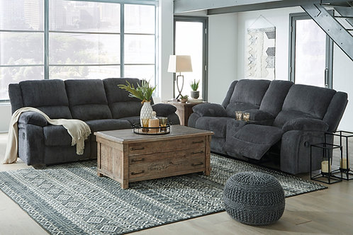 Draycoll Slate Reclining Sofa OR Loveseat