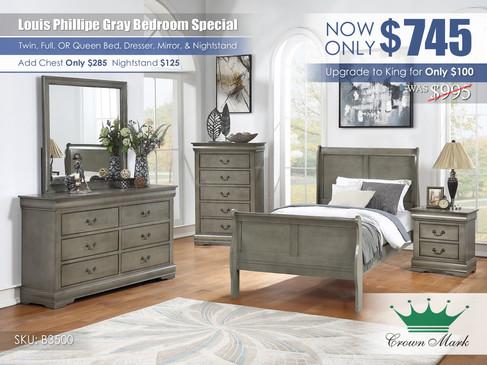 Louis Philip Gray Youth Bedroom Set_B3500.jpg