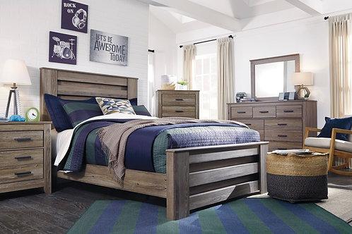 Zelen Gray Youth Bedroom Set