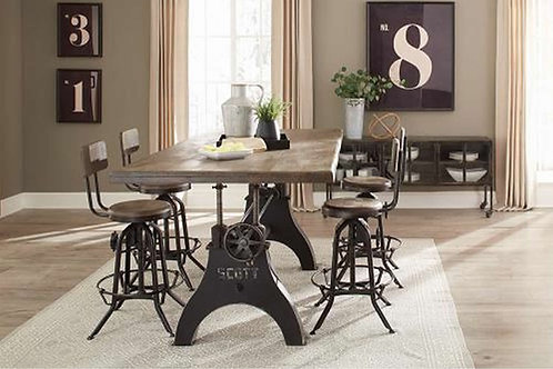 Clooney Adjustable Dining Table