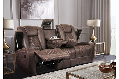 Cowboy Reclining Sofa with Drop-Down Table