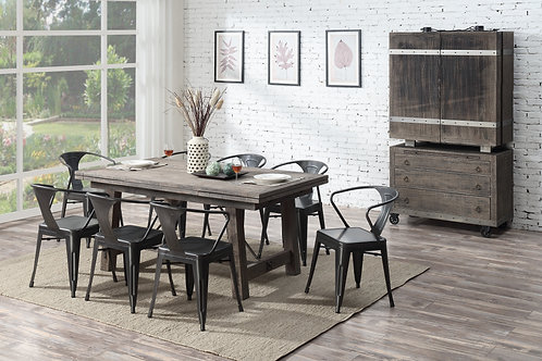 Dakota Regular Height Table & 6 Chairs