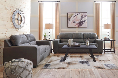 Narzole Gray Stylish Durable Sofa & Loveseat