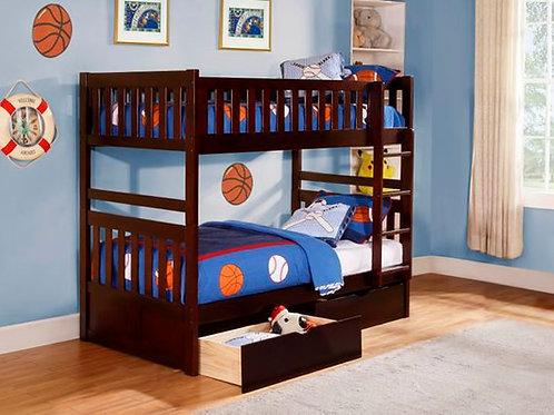 Rowe Twin/Twin Bunk Bed