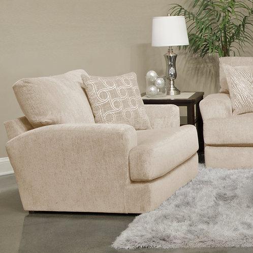 Lamar Cream Chair and A Half