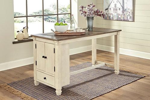 Bolanburg Antique White Rectangular Counter Table