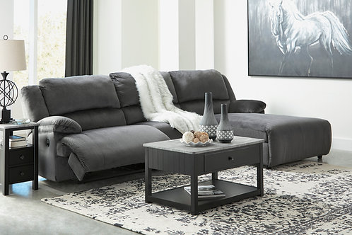 Clonmel Charcoal Small Sectional