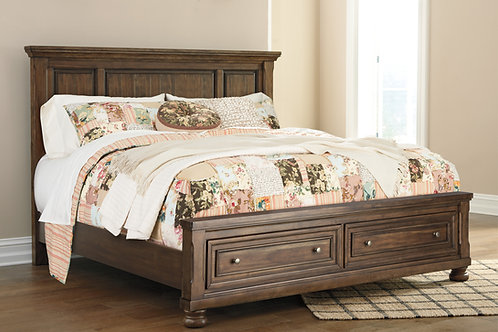 Flynnter Queen Storage Panel Bed
