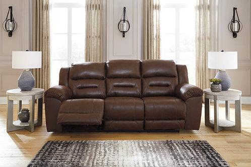 Stoneland Chocolate Reclining Sofa
