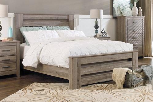 Zelen Warm Gray Bed