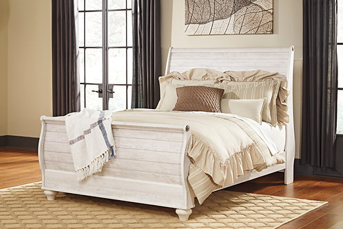 Willowtown Sleigh Bed