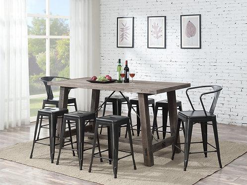 Dakota Counter Height Table & 4 Stools