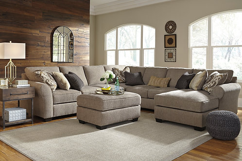 Pantomine Driftwood 5 PC Sectional