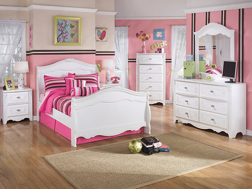 Exquisite Youth Sleigh Bedroom Set