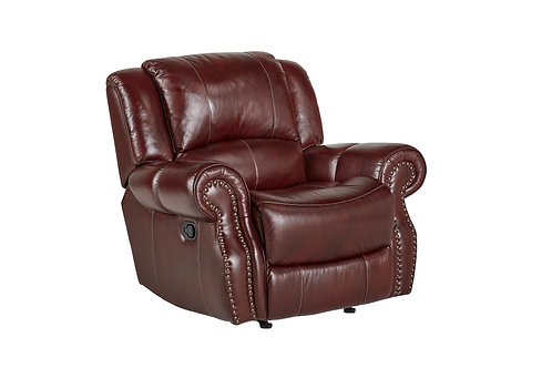 Alexander Oxblood Recliner (Text for Pricing)