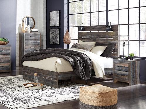 Drystan Urban Rustic Bed