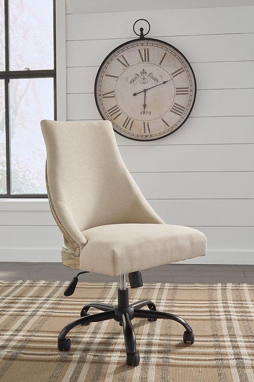 Linen Home Office Swivel Desk Chair