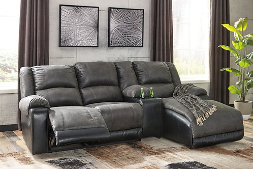 Nantahala Slate 4-PC RSF Sectional