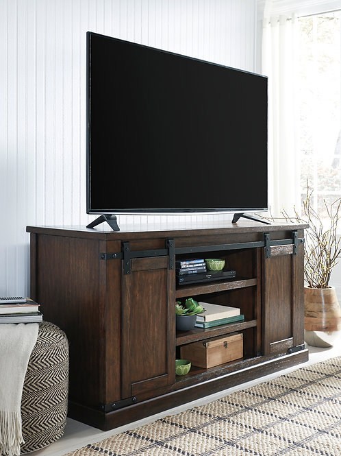 """Budmore Rustic Brown 60"""" TV Stand"""