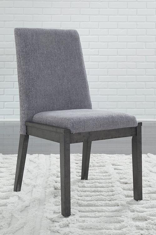 Besteneer Dark Gray Upholstered Side Chairs