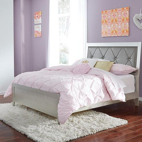 Olivet Silver Full Size Bed