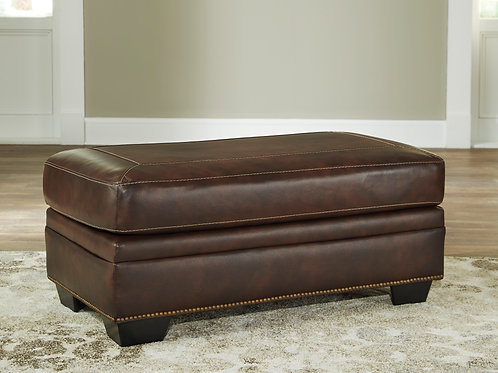 Roleson Walnut Brown Ottoman