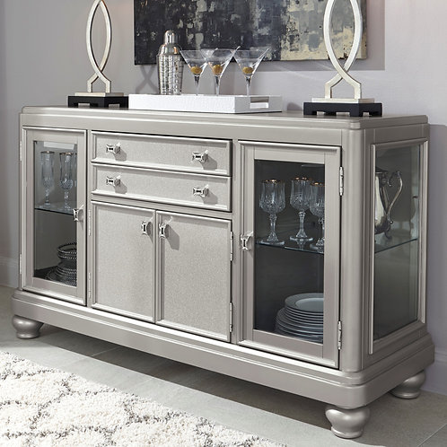 Coralayne Silver Dining Server