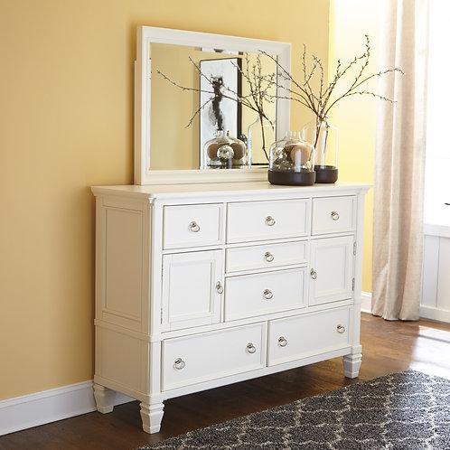 Prentice White Dresser