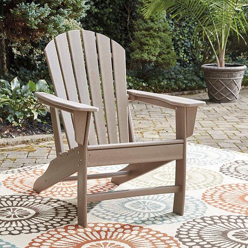 Adirondack Grayish-Brown Sundown Treasure Deck Chair