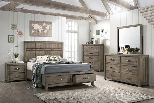 Arcadia Queen Storage Bedroom Set