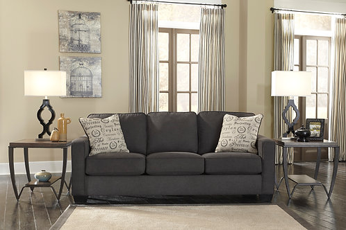 Alenya Charcoal Sleeper Sofa