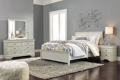 Jorstad Upholstered Queen Sleigh Bedroom Set
