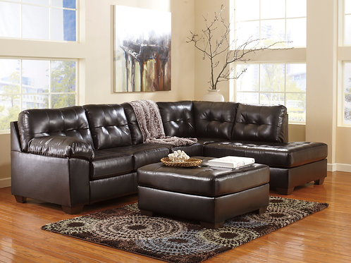 Alliston Chocolate 2-PC Sectional