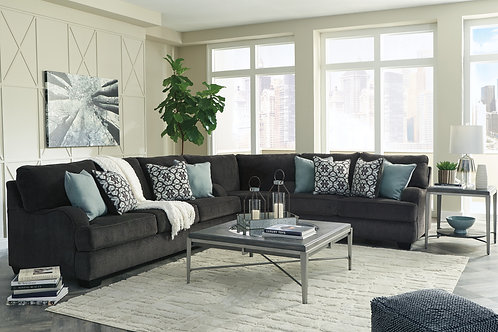 Charenton Charcoal 3-Piece Sectional