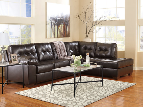 Alliston Chocolate 2-PC RSF Sectional
