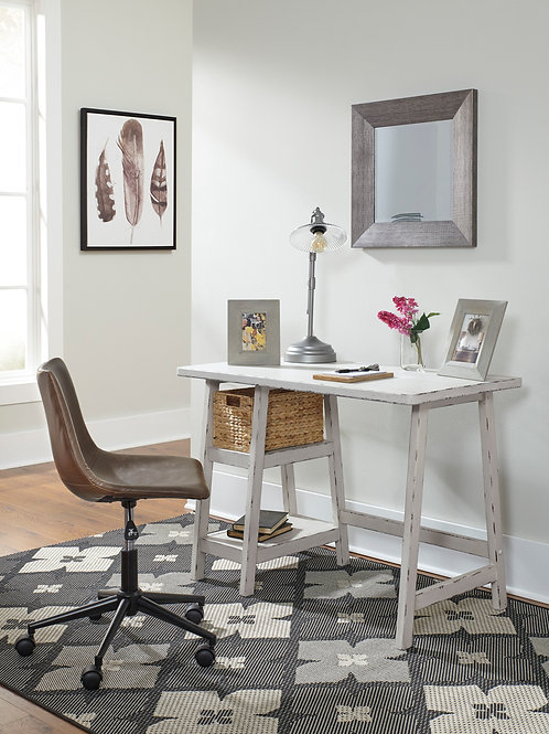 Mirimyn Antique White Small Home Office Desk