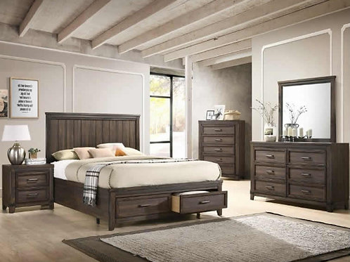 Presley Queen Storage Bedroom Set