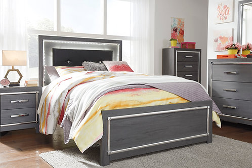 Ladonna Gray Full OR Queen Bed