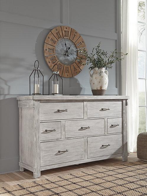 Brashland Rustic White Dresser