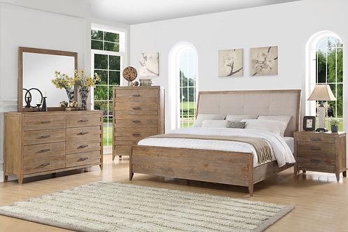 Torino Upholstered Bedroom Set