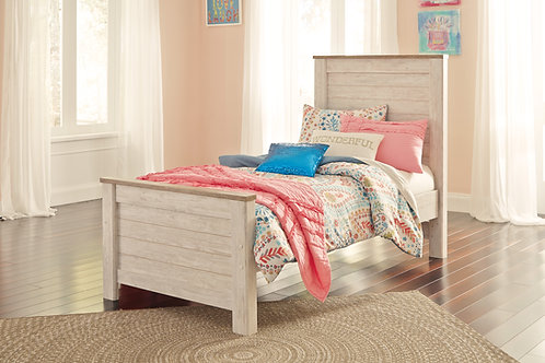 Willowtown Twin Panel Bed