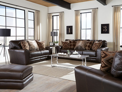 Denali Chocolate Living Room Sofa OR Loveseat