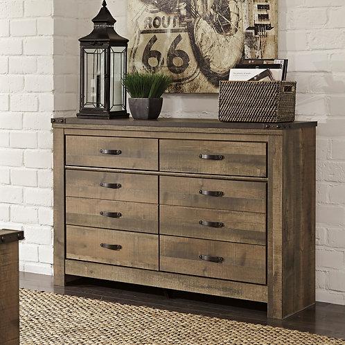 Trinell Rustic Brown Dresser