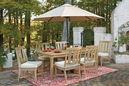 Clare View Table & 6 Side Chairs