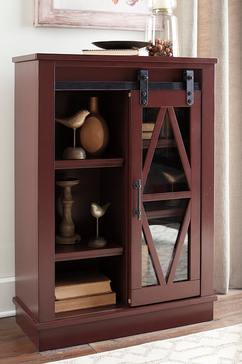 Bronfield Red Accent Cabinet
