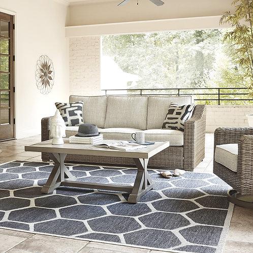 Beachcroft Beige Outdoor Sofa