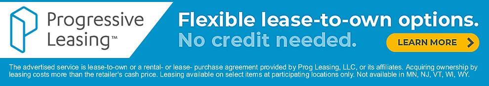 Progressive Leasing Available