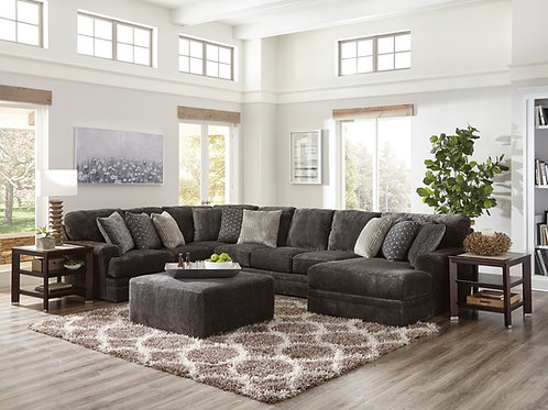 Mammoth Smoke Large Sectional w/Chaise