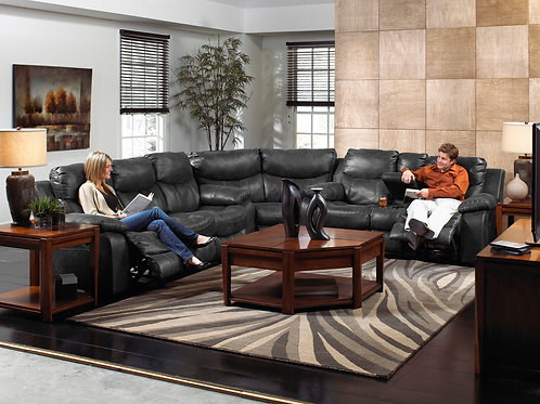 Catalina Steel Reclining 3-PC Sectional